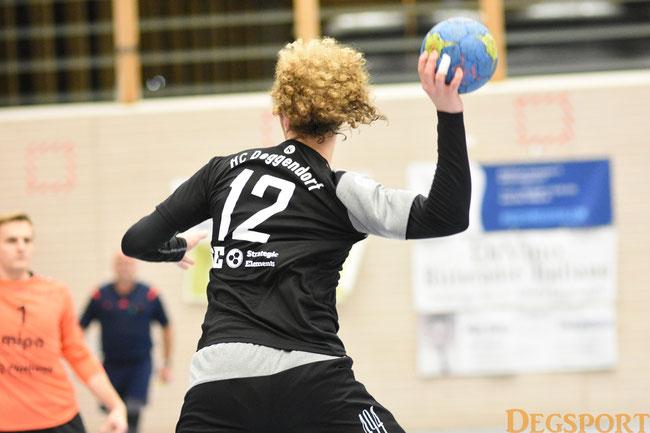 mit 7 Toren bester Torschütze des HCD: Jakob Stubhahn