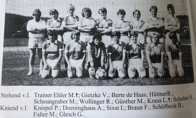 Fotoarchiv Marion Günther/Stadionheft: Niederbayerischer Meister 1981/82