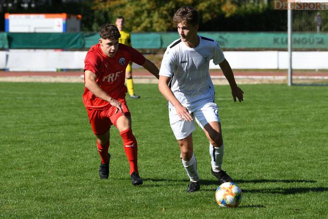 Lucas Donaubauer traf per Kopf zur 1:0 Führung