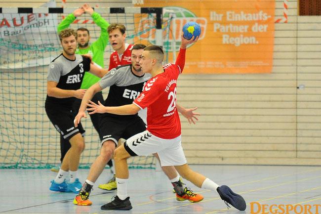 hatte freie Bahn:  #26 Elezovic, Dino mit 7 Treffern