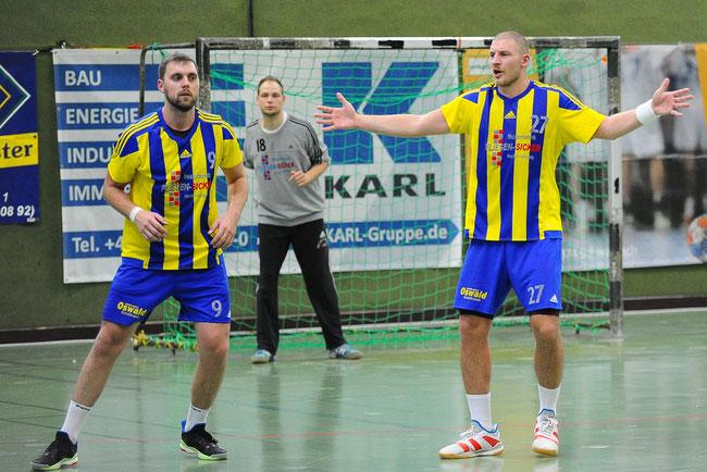 #9 Born, Nils, #27 Greger, Dominik