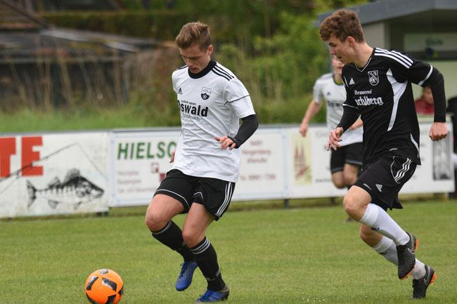 Tolles Fußballspiel- Spvgg Niederalteich besiegt den TSV Waldkirchen