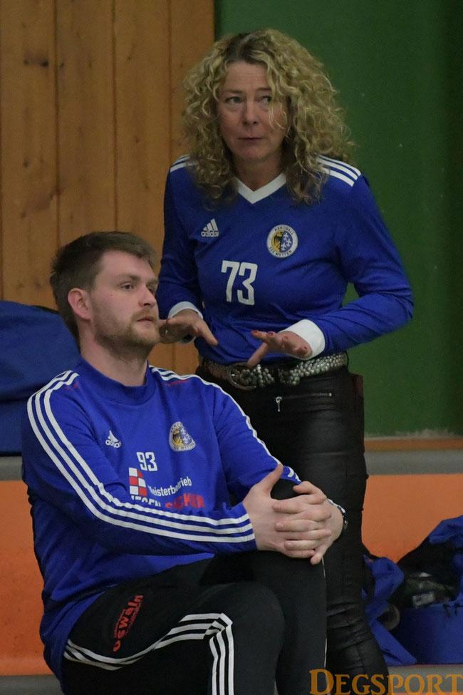 Trainergespann Kerstin Scheichenzuber und Sebastian Klima