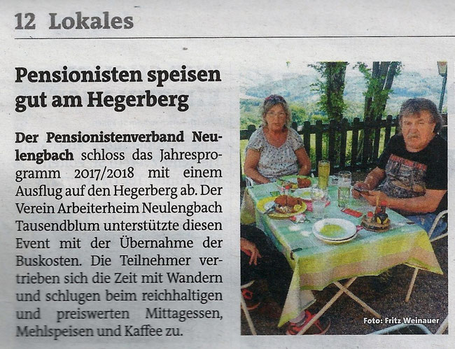 Danke Bezirksblätter