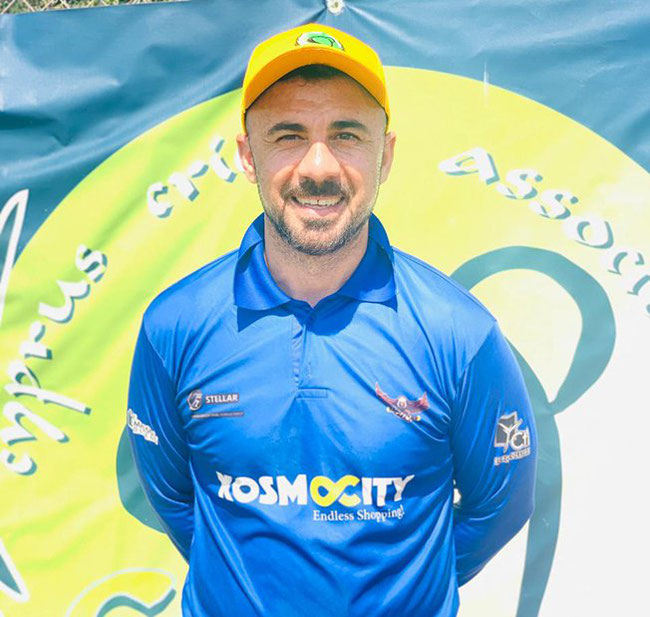 Mike Kyriakou hit 58 opening the batting and then took four wickets, held two catches and effected a run out, to earn himself the man of the match award