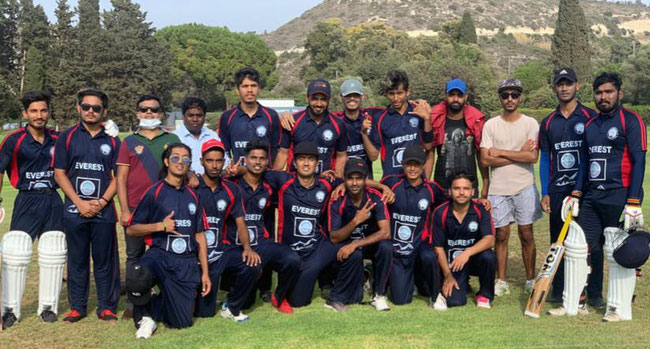 Everest after their first game against Fellows CC
