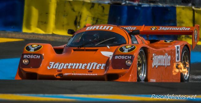 Porsche 956 Groupe C  24 heures du mans endurance