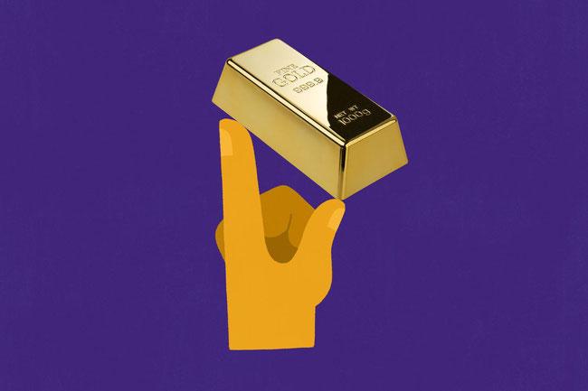 Viele an der Wall Street empfehlen, zumindest einen kleinen Teil eines Portfolios in Gold zu investieren.