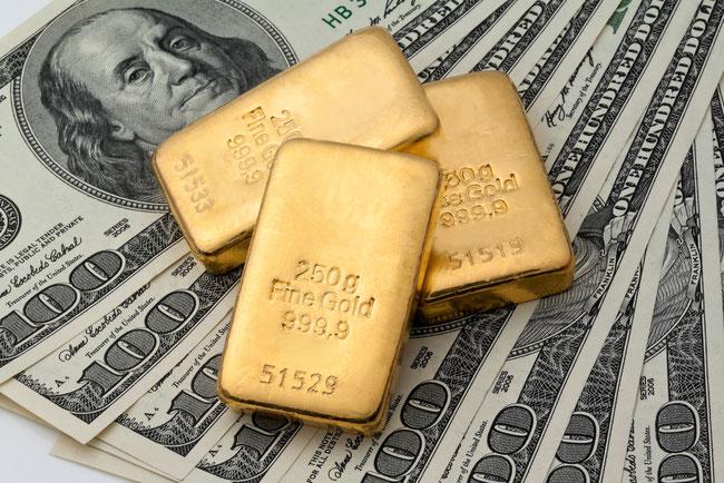 Der Goldpreis war nicht länger festgeschrieben und explodierte von Ende 1974 bis 1980 um 385 %