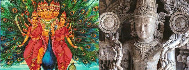 Hingabe und Gottheiten - Die heiligen Wesen des Hinduismus dienen alle dazu, Gläubige zu besseren Daseinszuständen zu führen.