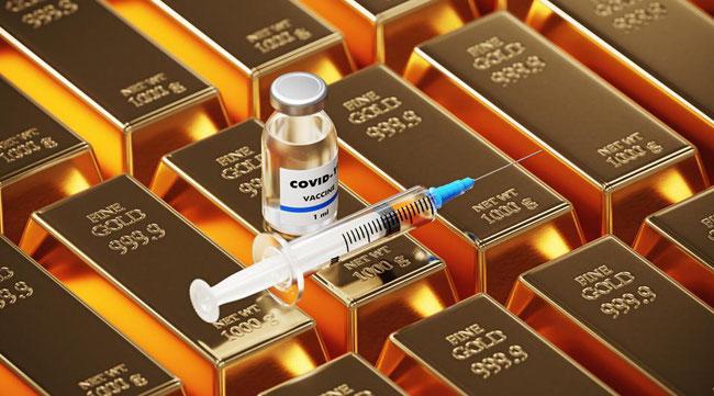 Unterm Strich hängt die Entwicklung des Goldpreises im Jahr 2021 sehr stark von der Coronavirus-Situation ab.