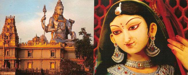 ...gibt es nur ein höchstes Wesen, Brahman, und von ihm wird gesagt, dass er  sie alle geschaffen hat.