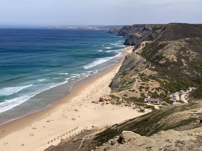 Viewpoint oberhalb der Praia do Cordoama