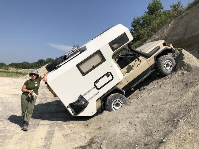 Für was ein Geländewagen auch noch praktisch ist...