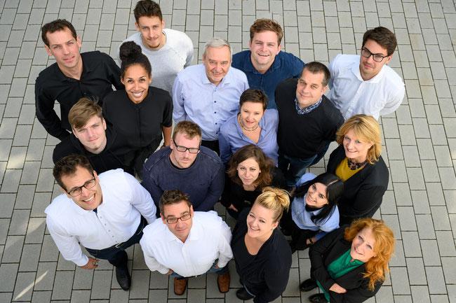 Das Team der IBO PartG mbB und der Dr.-Ing. Orth GmbH in Karlsruhe