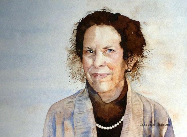 Diana. Aquarell (2011).