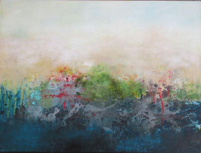 Von Ewigkeit zu Ewigkeit. Ölbild von Gabriele Koenigs (2020). 80 cm x 60 cm. Erhältlich