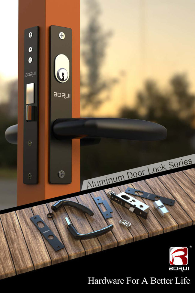 Aluminum Door Lock Series - BORUI Hardware