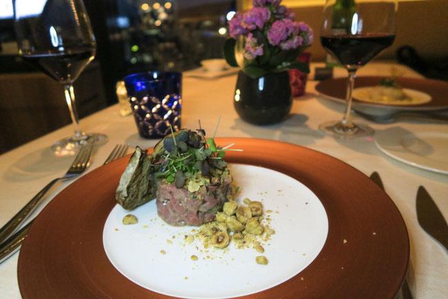 Restaurant CLOUDS Kitchen Zurich prime tower