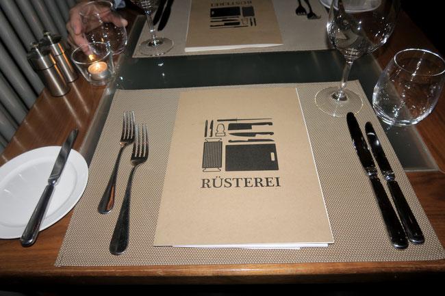 Restaurant Rüsterei Sihlcity Zürich Zurich food