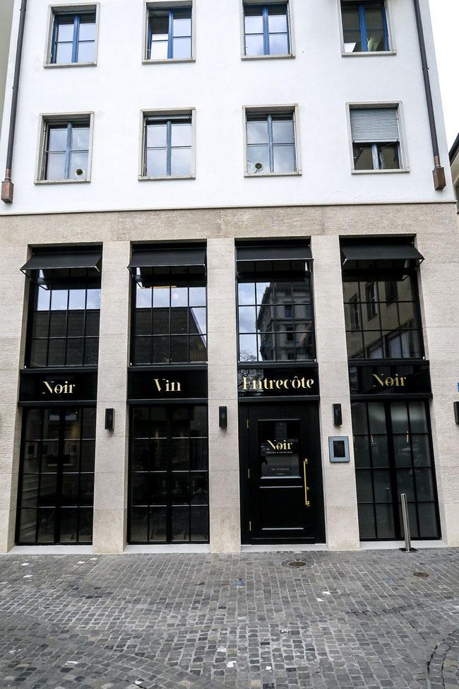 Restaurant Noir Maison D`Entrecôte Zurich Zurichfoodadvisor new Hechtplatz food