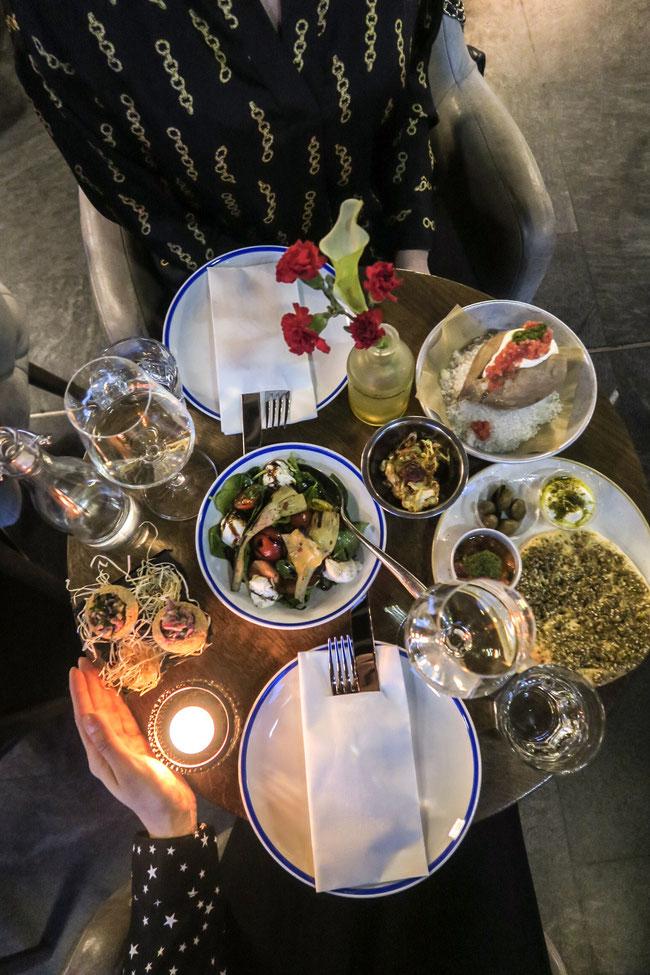 Tel Aviv Night in Grand Cafe Lochergut Zürich Zurich Food Restaurant israel