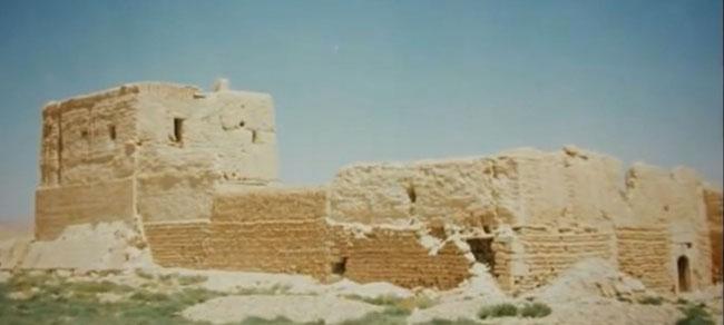 Ruines du Monastère en 1994.