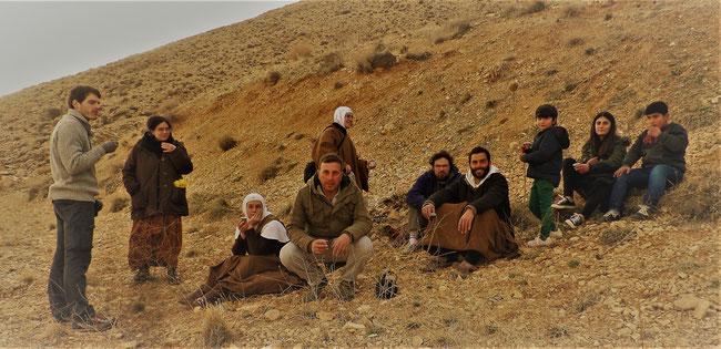 Rebecca (la deuxième de droite)