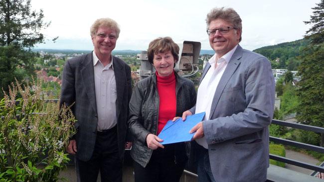 IAVE Weltverband des freiwilligen Engagements 2015 - Ernennung von Wolfgang Krell zum nationalen Repräsentanten für Deutschland - Foto: Freiwilligen-Zentrum Augsburg