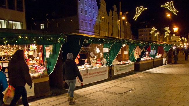 """Weihnachtsmarkt  """"s'Weihnachtsplätzle"""" - Foto: Robert Hösle - Freiwilligen-Zentrum Augsburg"""