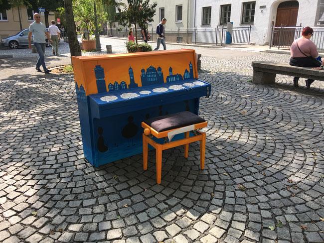 Engagement-Klavier 2018 - Freiwilligen-Zentrum Augsburg - Foto: Janna Hauser