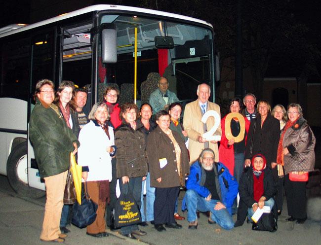 Jubiläum 20. Shuttletour 2004 bis 2008 am 23.10.08 - Foto: Nötzel