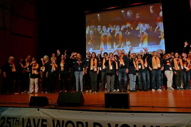 25. IAVE Welt-Freiwilligenkonferenz vom 16. bis 20. Oktober 2018 in Augsburg - Foto: Christoph Urban - Freiwilligen-Zentrum Augsburg