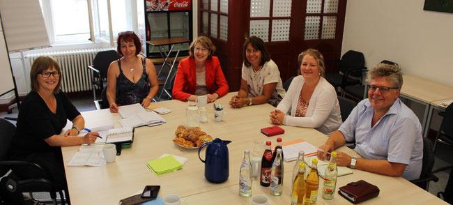 Informationsgespräch mit Ulrike Bahr - Foto: Angelika Lonnemann - Freiwilligen-Zentrum Augsburg