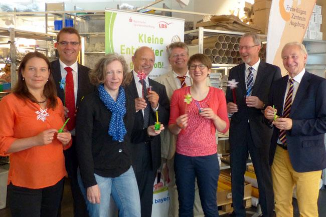 Projekt Kleine Entdecker - Auftaktveranstaltung am 25.06.2014 - Foto: Freiwilligen-Zentrum Augsburg