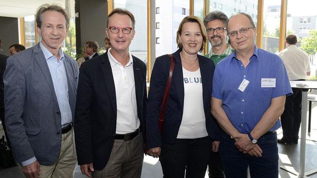 Bündnis für Augsburg und Freiwilligen-Zentrum Augsburg bei der langen Nacht der Partizipation am 28.05.2015 in Dornbirn vertreten - Foto: Freiwilligen-Zentrum Augsburg