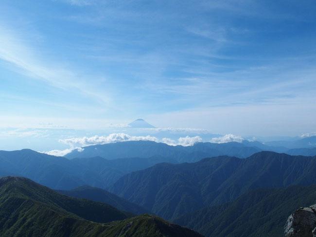 やっぱり富士山・・・無言です。