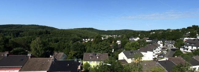Achenbach im Juli Panoramabild