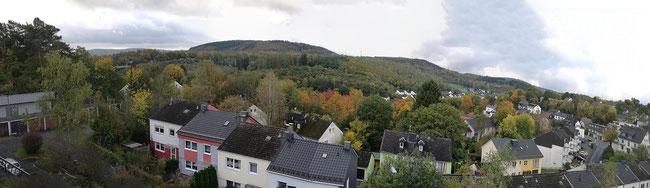 Achenbach im Oktober Panoramabild