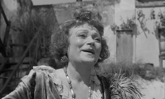 Lila Kedrova in Zorba The Greek