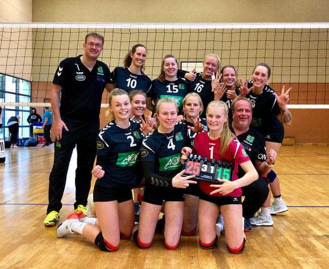 Für 1860 spielten: Maren Bausch, Juli Eyink, Lisa Eyink, Caya Kleemeyer, Janika Lück, Katrina Müller, Vanessa Radtke,     Laurina Reins, Katharina Stöver(C), Anna Thuernagel.