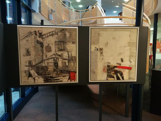 Kunst in der Dolomitenbank Lienz 2020