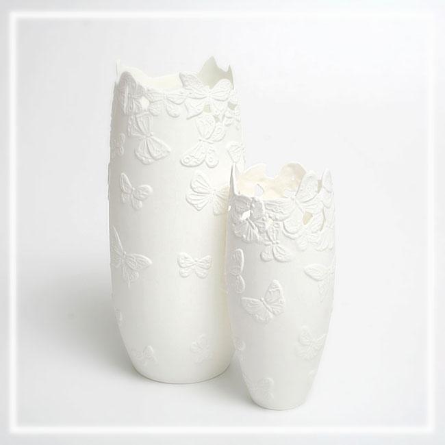 Blumenvasen aus Fine Bone China Porzellan