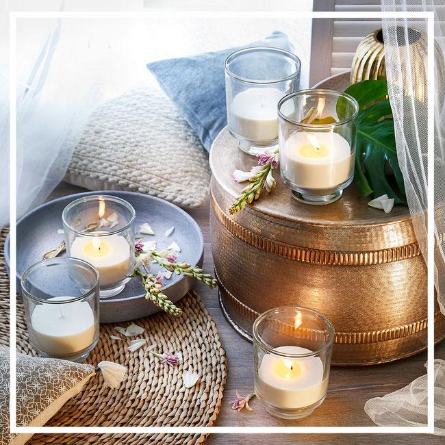 AVA Windlichter mit Citronella- von Engels Kerzen