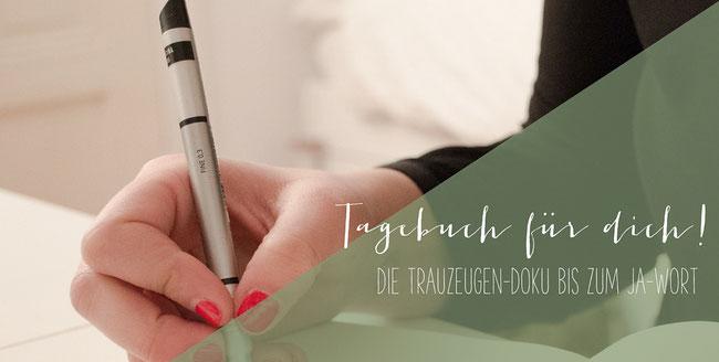 Tagebuch Fur Dich Die Trauzeugen Doku Bis Zum Ja Wort Verschenken