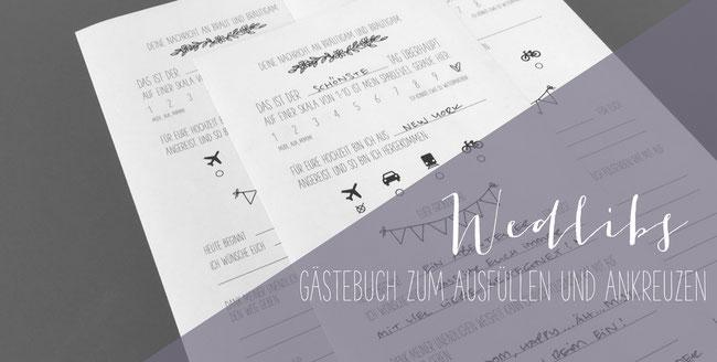 Update Neue Luckentext Gastebucher Zum Herunterladen Diy