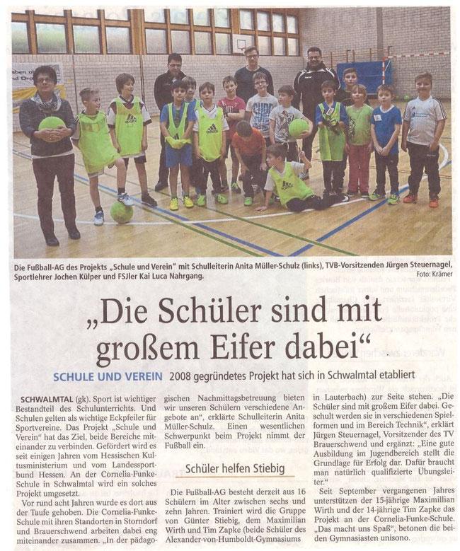 Quelle: Oberhessische Zeitung Alsfeld vom 16.01.2016