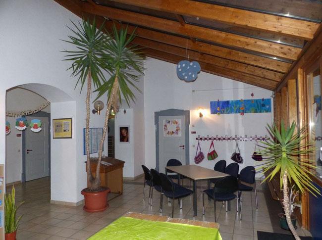 Der Wintergarten an unserem Standort in Storndorf! Ein Platz zum Wohlfühlen!