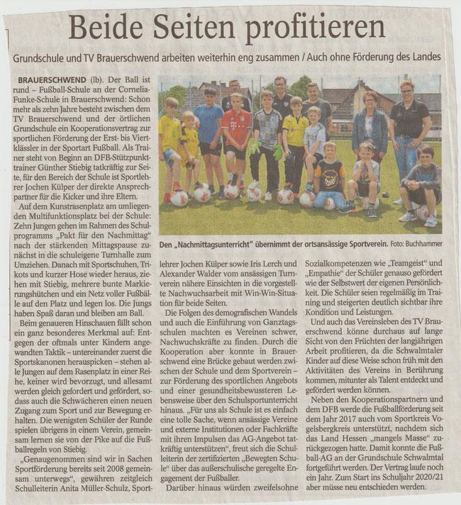 Oberhessische Zeitung Alsfeld vom 12.06.2019