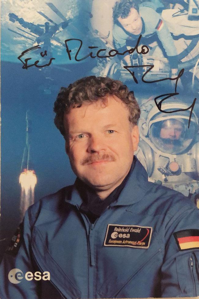 Autograph Reinhold Ewald Autogramm